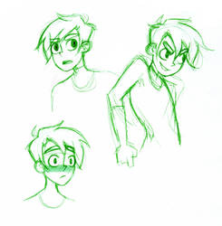Dannyphantom sketch by gakumi