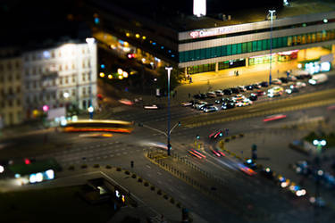 Warsaw by night_6_5 by papagall