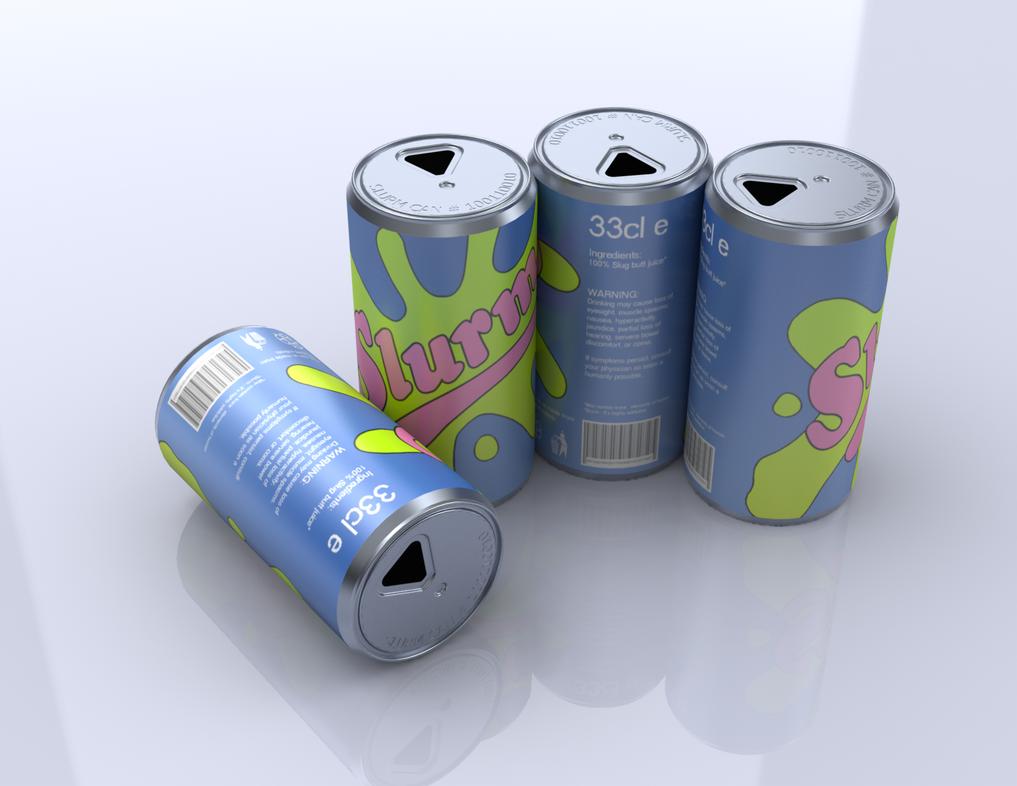4 Slurm Cans by thediamondsaint