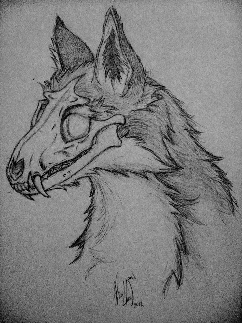 Oc Skull Fox Fall By Rizden On Deviantart