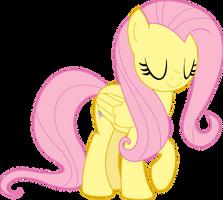 Smiling Fluttershy by littleponyforever