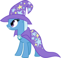 Trixie is not amused by littleponyforever