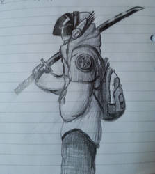 Cyberpunk Swordsman