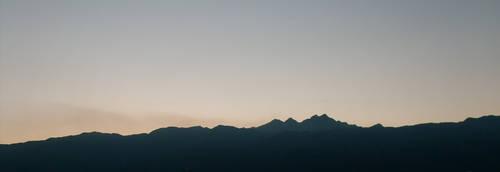 Italian Mountains Night II by lostsoul9