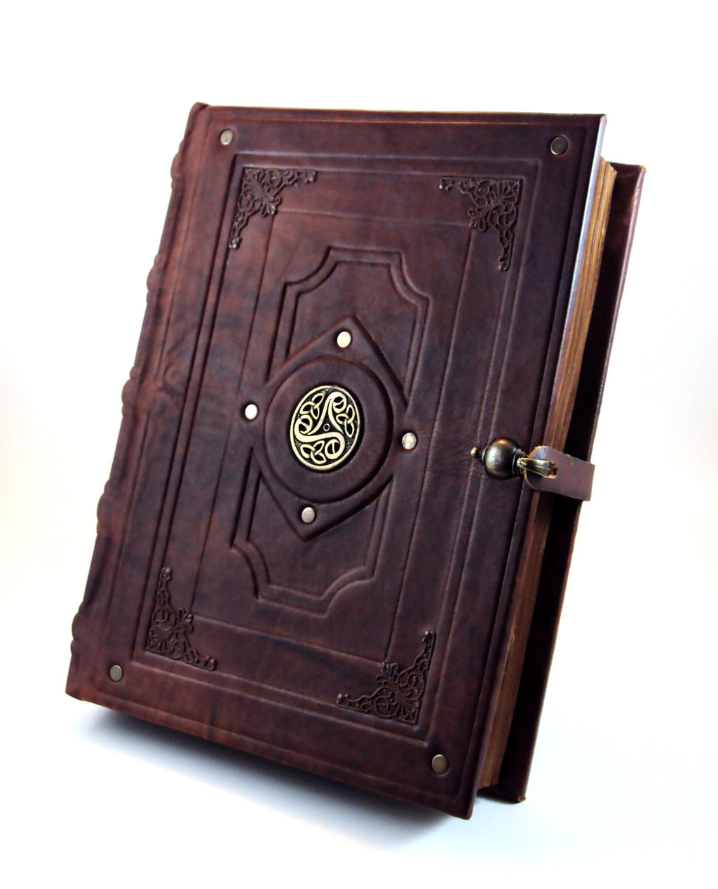 Antique Book Replica by MilleCuirs on DeviantArt