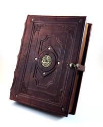 Antique Book Replica by MilleCuirs