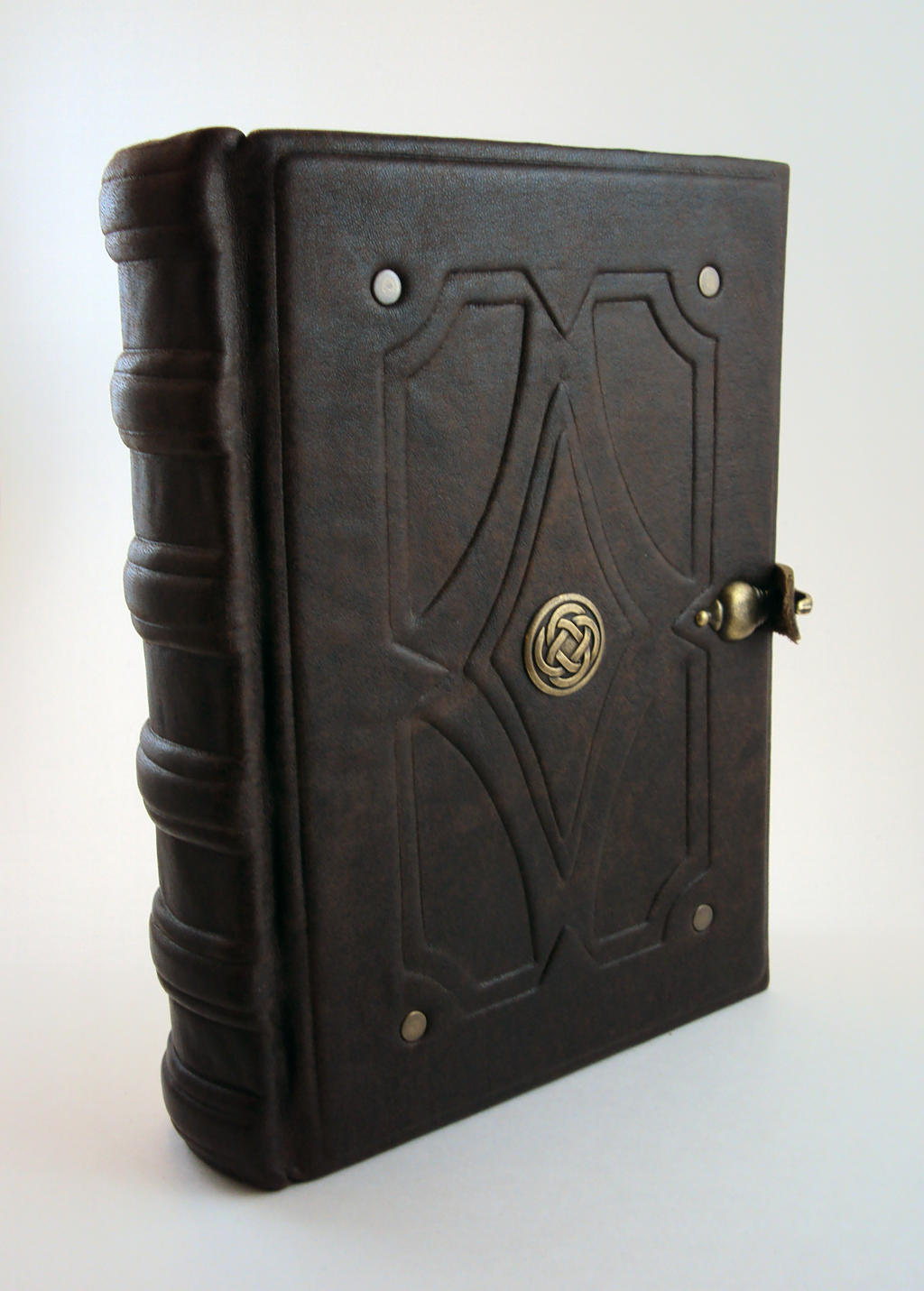 Antique celtic book by MilleCuirs