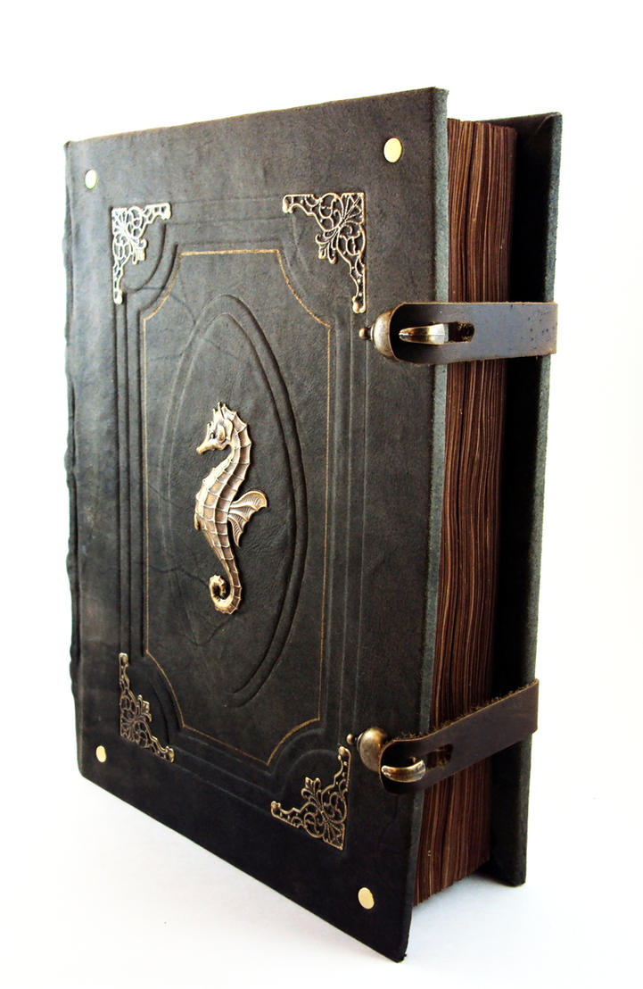 Big Seahorse Grimoire by MilleCuirs