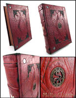 Antique Book of Unknown by MilleCuirs