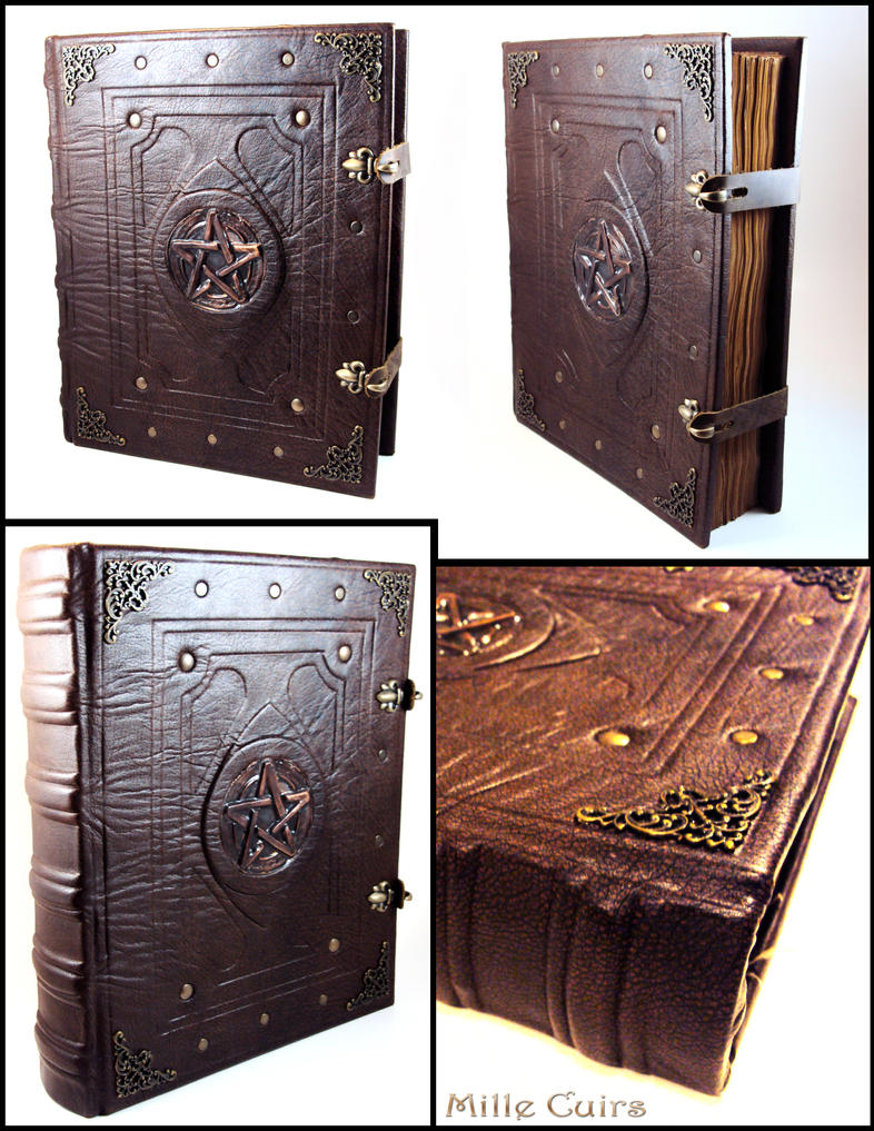 How To Make A Book Of Shadows Cover ~ Livre des ombres book of shadows by millecuirs on deviantart