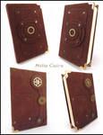 Tiny steampunk notebook
