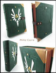 Hylian leather book - White wings