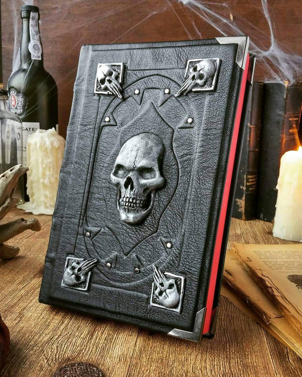 Cool Book Cover Questions : The necromancer s grimoire silver edition by millecuirs