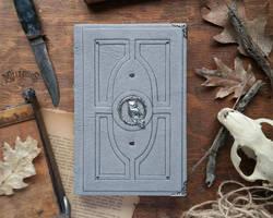 Livre gris du hibou! by MilleCuirs