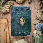 Small book of fairies - forest green