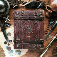 Grand Grimoire of pirates - wedding guestbook
