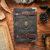 Book of the wolf - small size by MilleCuirs