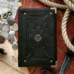 Demonologist's inverted pentacle journal