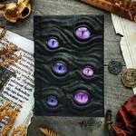 Purple watcher - small size