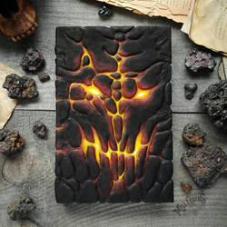 Le Grimoire du Seigneur du Magma by MilleCuirs