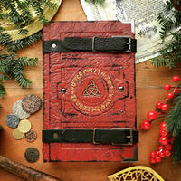 Red book of alchemy by MilleCuirs
