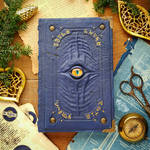 The Alchemist's blue grimoire