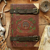 the forest traveller's Grimoire by MilleCuirs
