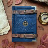 Compass little blue book by MilleCuirs