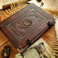 Great Dragon sketchbook by MilleCuirs