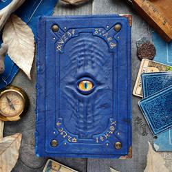 The Alchemist's Blue Grimoire by MilleCuirs