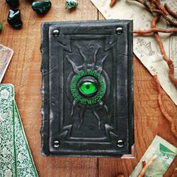 The Alchemist's little green book by MilleCuirs