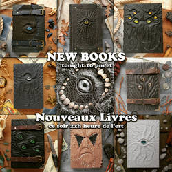 I'm adding new books tonight!! by MilleCuirs