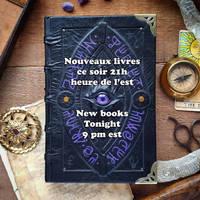 New books on etsy tonight!!