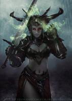 Sword enchantment by Kamyu