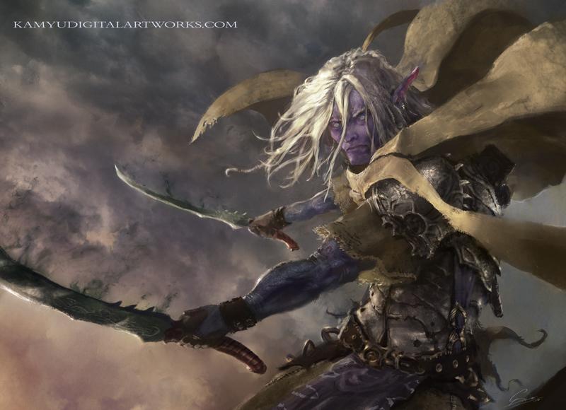 Cursed blades by Kamyu