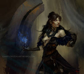 Yennefer - The Witcher fanart