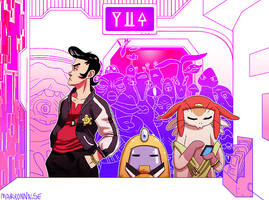 Space Dandy by princesspizza