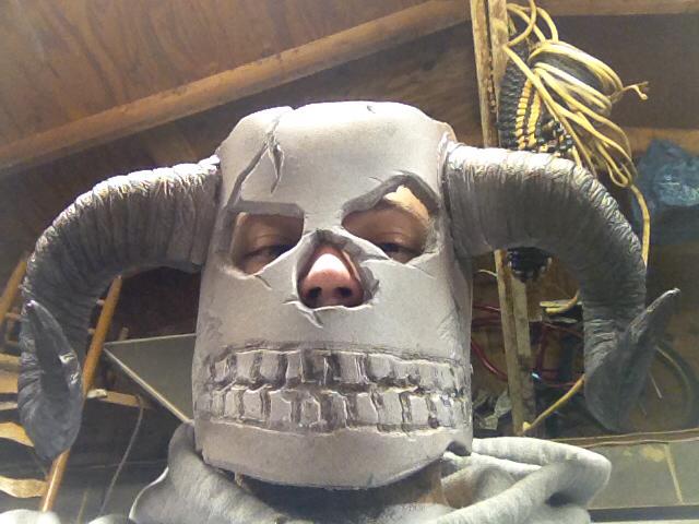 Witch Doctor Skull Mask on me 1 by jackalphoenix on DeviantArt