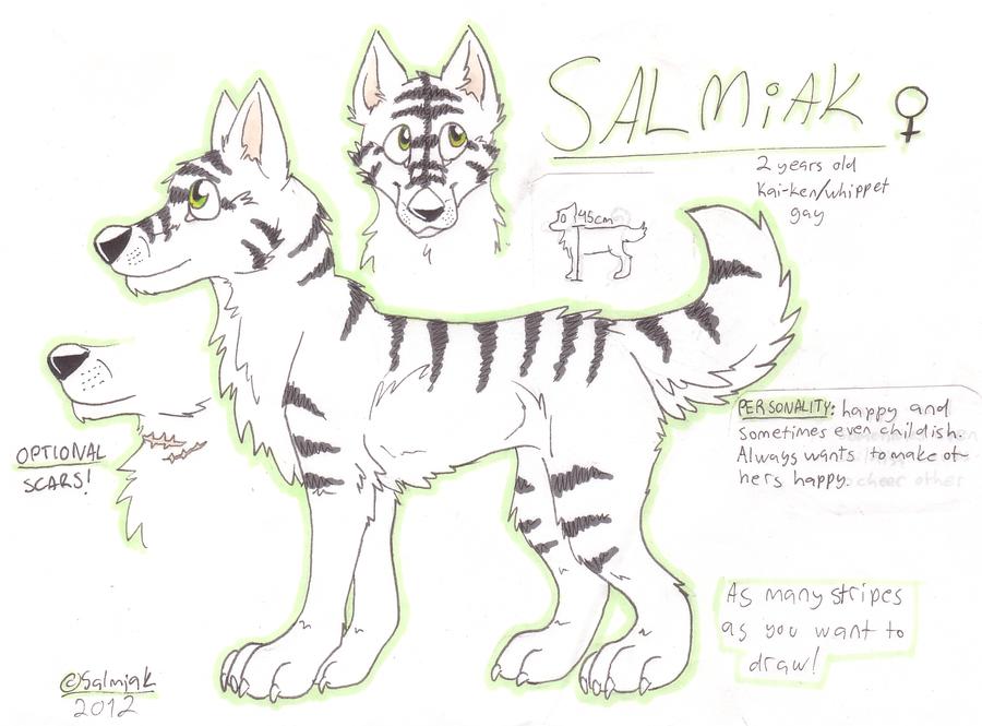 Salmiak reference sheet by ISalmiak