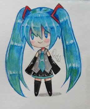 Chibi Hatsune Miku ^^