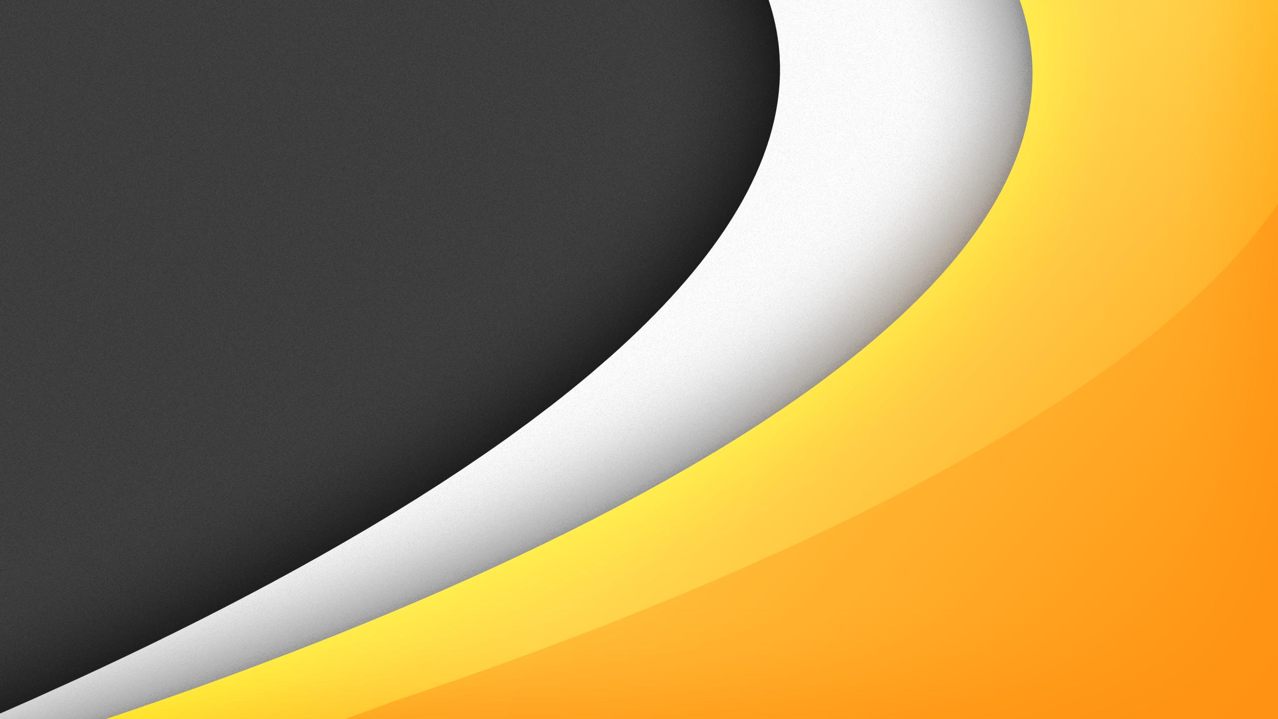 Orange White Grey Wallpaper 2560x1440 By Qorthas On Deviantart