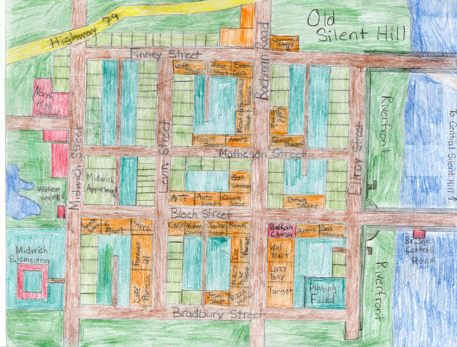 Old Silent Hill By AlderranCity34 On DeviantArt