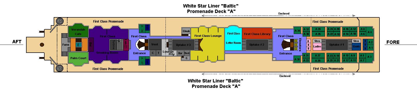 Rms Baltic A Deck By Alderrancity34 On Deviantart