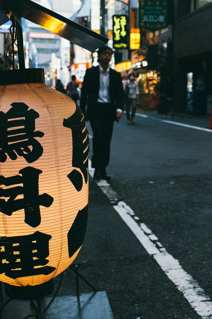 Shinjuku Dusk by ImJustDEO