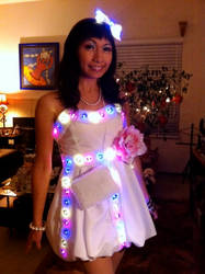 LED Party Dress