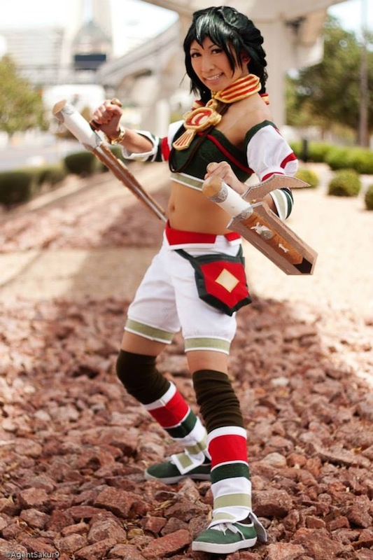 Talim from Soul Calibur 2:  Remake by cherryteagirl