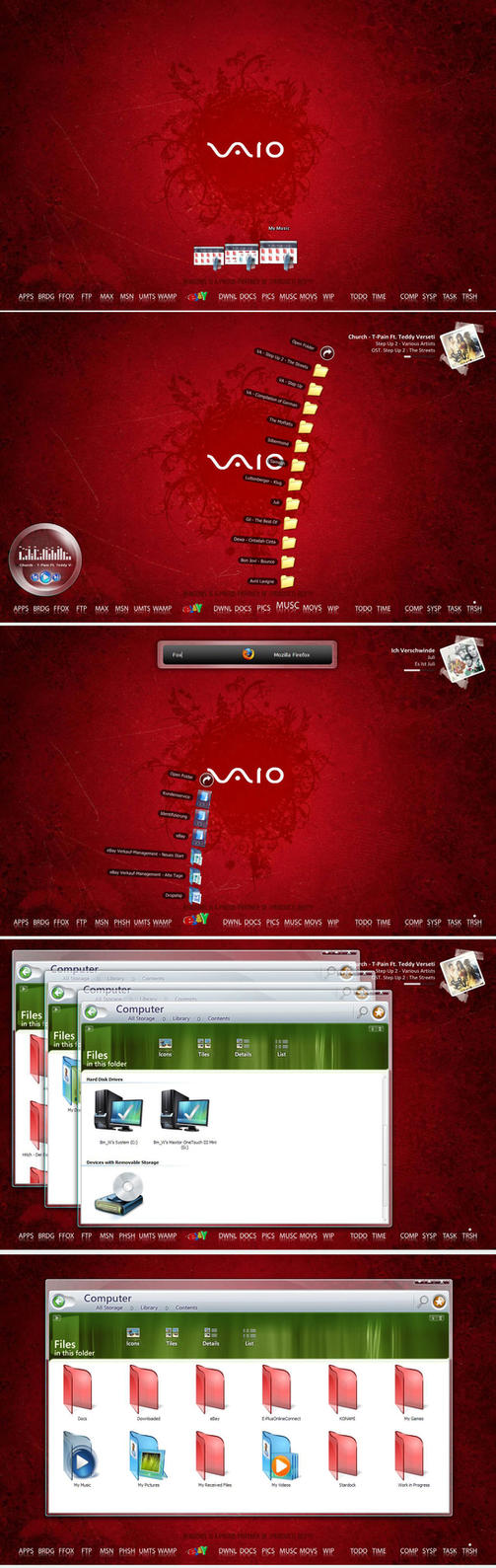 vaio red wallpaper by - photo #24