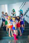 Anime Boston: Sailor Moon Group