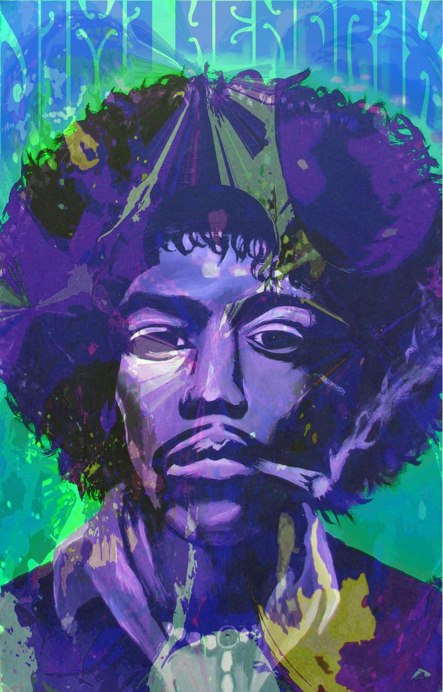 Jimi hendrix by mainpiece on deviantart - Jimi hendrix wallpaper psychedelic ...
