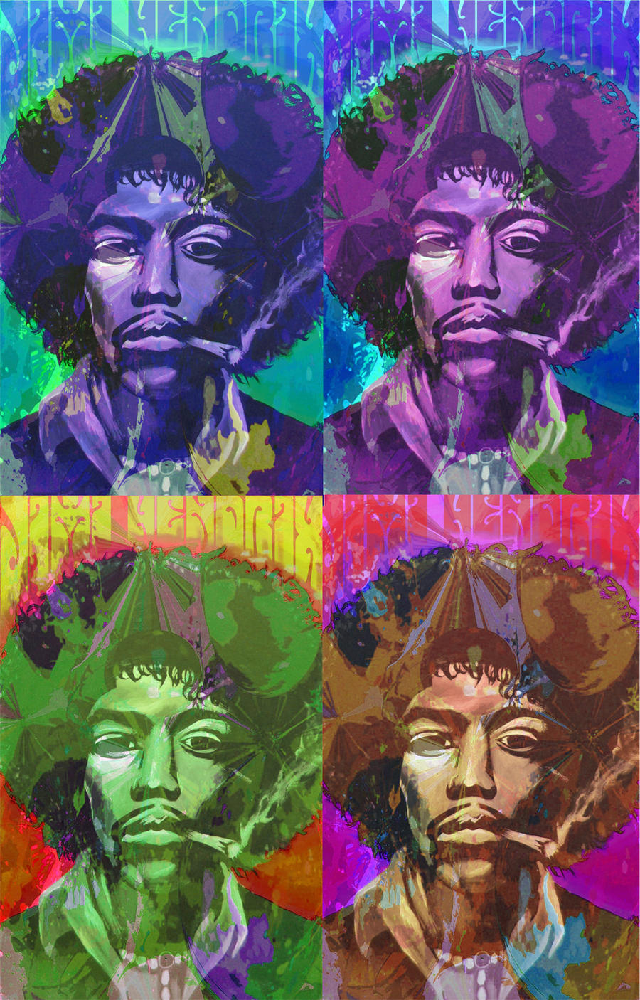 Jimi Hendrix Psychedelic Wallpaper Psychedelic Jimi Hendrix
